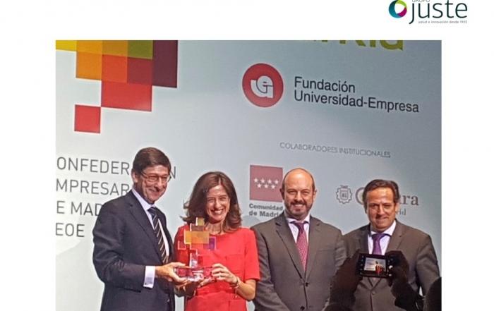 Grupo JUSTE Premio Empresa del Año 2018