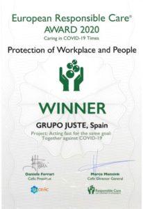Premio de Consejo Europeo de la Industria Química